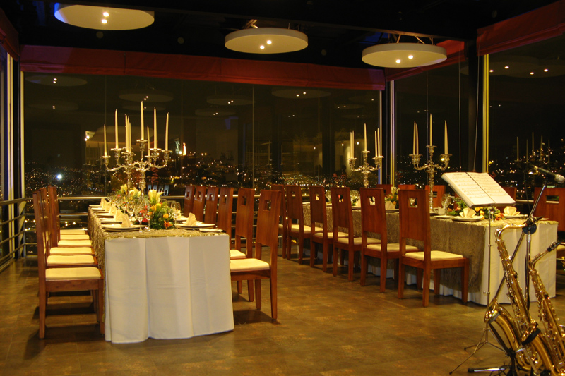 Comedor principal, evento | Restaurante El Ventanal